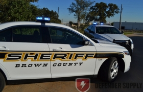 Brown County, KS Sheriff\'s Department - Ford Defender Interceptor Sedan