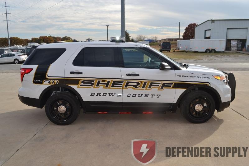 Ford Defender Interceptor Utility Police Vehicle | Defender Supply