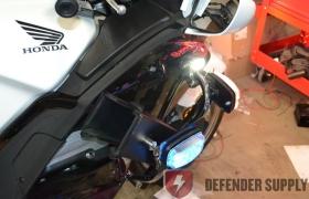 Whelen M4 LED light - Amber/Blue Split