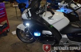 Whelen M4 LED Light - Red/Blue