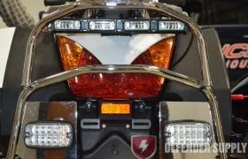 Whelen M4, Amber/Red Split LED