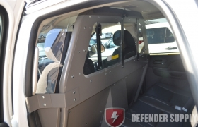 Pro-gard Partition, Center Sliding Prisoner Partition 2012 Tahoe