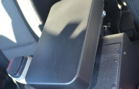 Console mounted armrest