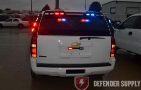 Whelen Dominator Plus 6 LED Light - Red/Blue - 6 LED\'s/Module - RRRBBB