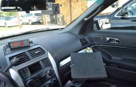 Computer Stand and Stalker Radar Head
