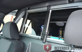 10VS RP coated partition for 2013 Ford Interceptor SUV (INCLUDES RECESSED INSERT AND LOWER KICK PANEL)