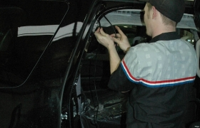 Side Wiring Shot