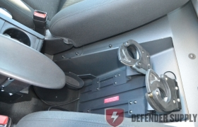 Dual T Rail Weapon Lock with Timer & Handcuff Key