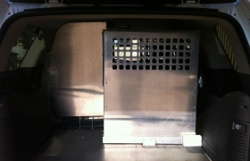 Trunk and K9 Cage