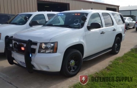 Chevy Defender Tahoes with Whelen Lights