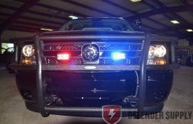 Go Industries Law Enforcement Brush Guard w/ poly coating