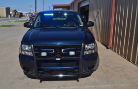 Front Of Chevy Tahoe