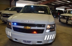 Front with grill lights