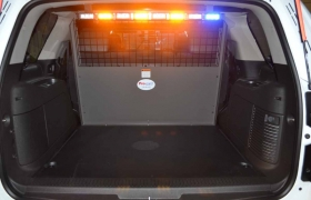Back interior with lights
