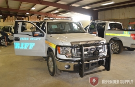 Starr County, TX Sheriff\'s Department - Ford Defender F-150