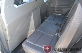 2013 Ford Interceptor Utility Prisoner Partition w/Passenger ½ Sliding Polycarbonate Window